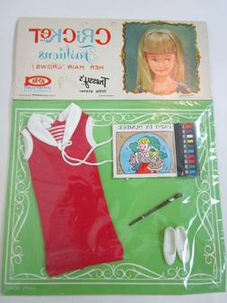 MINT IN PACKAGE Tressy Sister CRICKET 1960's HAPPY HOBBY Out