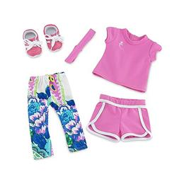 18 Inch Doll Clothes | Amazing Mix and Match Running Exercis