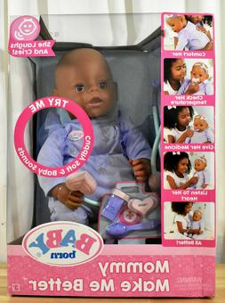 Baby Born Mommy Make Me Better Interactive Baby Doll African