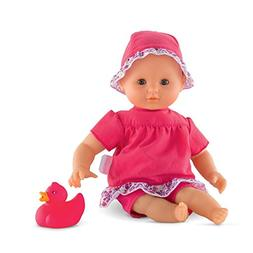Corolle Mon Premier Poupon Bebe Bath Flowers Toy Baby Doll