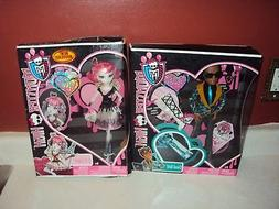 MONSTER HIGH CLAWD WOLF SWEET 1600 & C. A. CUPID 1600 LOT OF