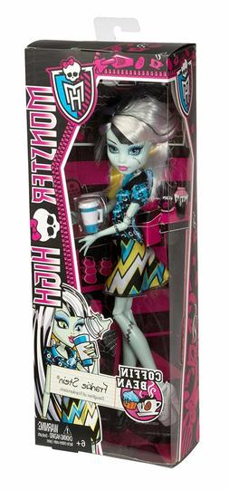 Mattel MONSTER HIGH COFFIN BEAN FRANKIE STEIN Doll in Box Ha