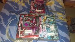 Monster High Doll Lot Of 3! Jane Boolittle, Picture Day Oper