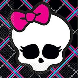 MONSTER HIGH DOLLS Birthday party supplies beverage PAPER NA
