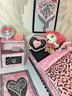 Monster High Furniture Set Bed Bedroom for Cupid Sweet