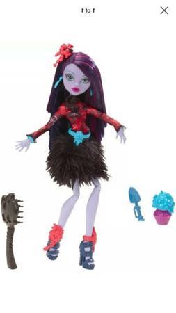 Mattel Monster High Gloom and Bloom Jane Boolittle & Acc 6+