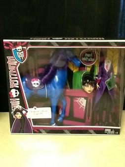 MONSTER HIGH Headless Headmistress Bloodgood Doll with Horse