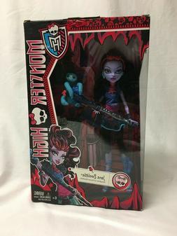 Monster High Jane Boolittle  n Doll NEW IN BOX NIB