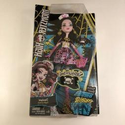 Monster High Nautical Ghouls Shriekwrecked Draculaura Doll N
