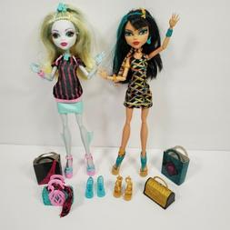 Monster High Scaris City Of Frights Lagoona Blue & Cleo De N