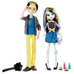 Monster High Picnic Casket Doll 2-Pack -Frankie Stein & Jack
