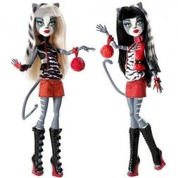 Exclusive Monster High Werecat Sister Doll Pack - Meowlody a