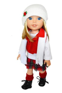 My Brittany's Winter Bliss Outfit for Wellie Wisher Dolls-14