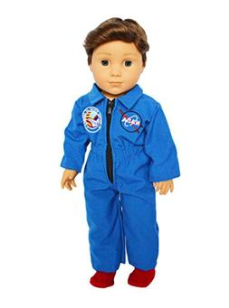 Brittany's My NASA Flight Suit Compatible with American Girl