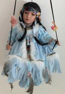 Native American Indian Porcelain Dolls -Limited Edition Coll