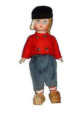Madame Alexander Netherlands Boy Doll International Series 8