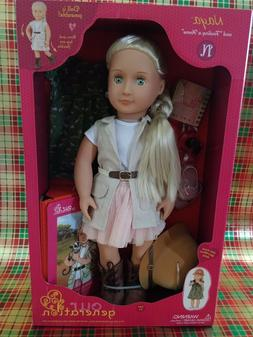 new 18 naya deluxe doll and finding