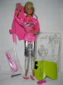 NEW 1986 Barbie & the ROCKERS 2ND doll PINK CLOTHES 1980s Re