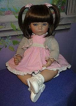 """NEW ADORA 20"""" WEIGHTED TODDLER DOLL SWEET CHEEKS"""