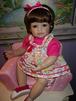 "NEW ADORA 20"" WEIGHTED TODDLER TIME DOLL LOVE & JOY"