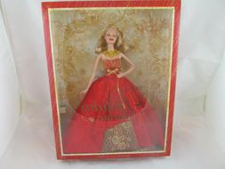 NEW 2014 Holiday Barbie Doll Blonde Collector Edition Christ