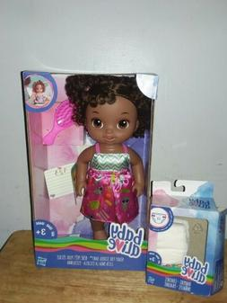 NEW 2016 BABY ALIVE READY FOR SCHOOL BABY AFRICAN AMERICAN D