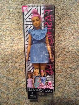 New 2018 Barbie Fashionistas Denim Dress #95 Doll Collectibl