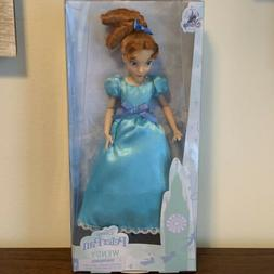 New 2020 Disney Store Classic Wendy Peter Pan Doll