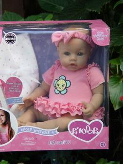 New ~ Adora Baby Time ~ Baby Pink ~ 16 inch Doll ~ with Bott