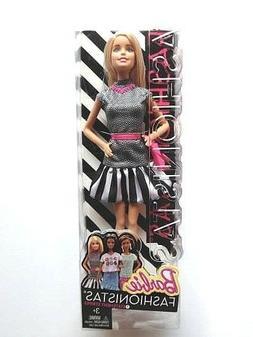 NEW Barbie Fashionistas #1 Statement Stripes 2014 Barbie Dol