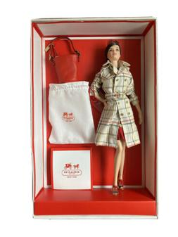 New Coach Barbie Doll NRFB 2013 Designer Doll Collection Gol