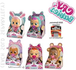 NEW Cry Babies LAMMY LALA CONEY BONNIE LEA Baby Doll Girls T