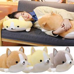 New Cute Fat Shiba Inu Corgi Doll Pillow Dog Plush Toy Stuff