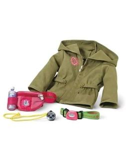 NEW American Girl Doll Hiking Accessories and Jacket Backpac