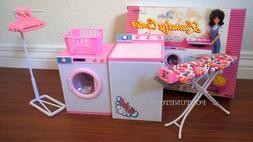 NEW GLORIA DOLL HOUSE FURNITURE Laundry PLAYSET