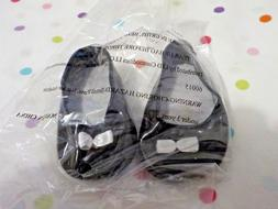 """NEW Doll Shoes to fit 18"""" Dolls like American Girl, Black Sl"""