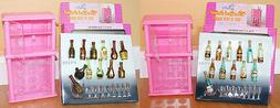 NEW Gloria DOLLHOUSE FURNITURE Wine Rack A+B PLAYSET