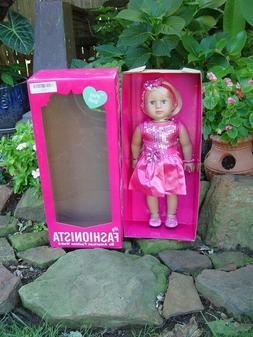 New ~ American Fashion World Emma ~ 18 Inch Girl Doll ~ My F