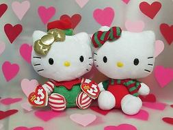 New for Sales - ty - Hello Kitty Beanie Babies Festive Plush