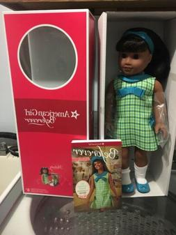 """NEW in Box American Girl 18"""" Melody Doll with Book Outfit Da"""
