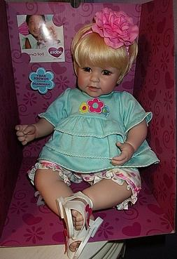 """NEW IN BOX ADORA 20"""" WEIGHTED TODDLER TIME SUMMER BREEZE"""