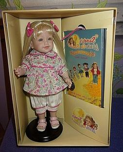"NEW IN BOX ADORA SANDY'S ADORA-BLE FRIENDS 8"" RACHEL DOLL"