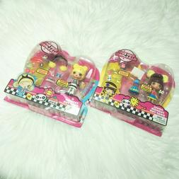 New MATTEL Kuu Kuu Harajuku Angel and G Fashion Swap Fun Dol