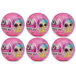 NEW L.O.L. Surprise! Eye Spy Lil Sisters 6-Pack Doll Ball Wa