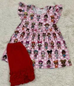 New LOL SURPRISE Boutique Outfit 3 Toddler 3T Pink Doll Top