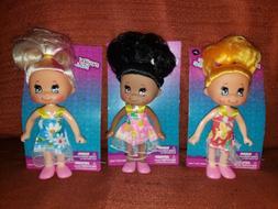 New LOT of 3 MIXED SET 5 Inch Fashion Poupee Mode Dolls GREE
