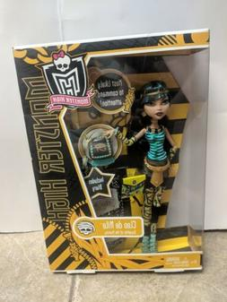 New Monster High Wave 2 School's Out Cleo DeNile Doll Origin