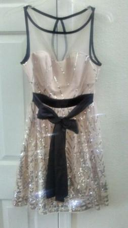 NEW Crystal Doll Prom Dress Gown Size 3/XS Party Cocktail Fo