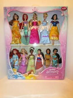 "NEW SEALED Disney Store 11 Disney Classic Princess 12"" Doll"