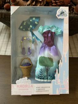 NEW Disney Sleeping Beauty Aurora Classic Doll Accessory Pac